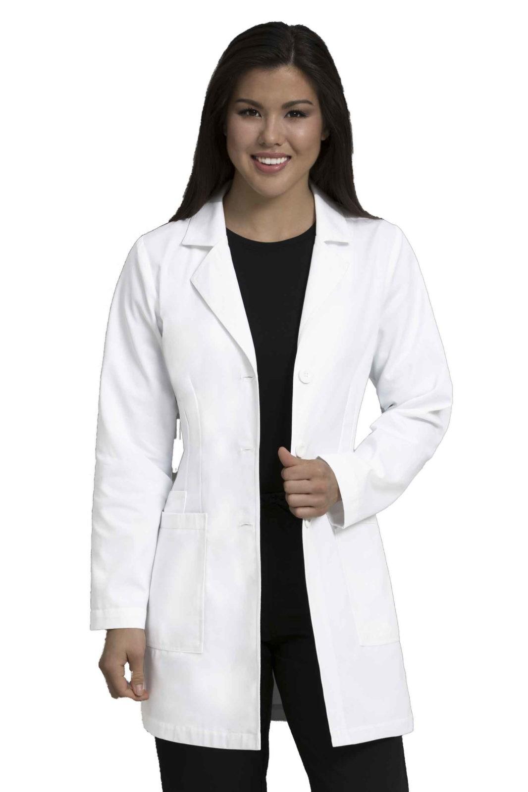 """8692 34 Lab Coat - Women Med Couture 34"""" Lab Coat"""