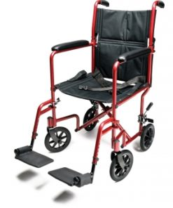 InventoryItem10937 400 247x296 - W/C TRANS CHAIR RED ALUM 17 E&J