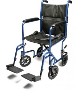 InventoryItem10941 400 247x296 - W/C TRANS CHAIR BLUE ALUM 17 E&J
