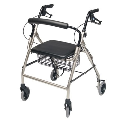 InventoryItem11832 400 - ROLLATOR ALUM WIDE CHAMPAGNE WALKABOUT WIDE