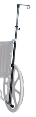 InventoryItem1359 400 - IV POLE WHEELCHAIR 1-HOOK LUMEX