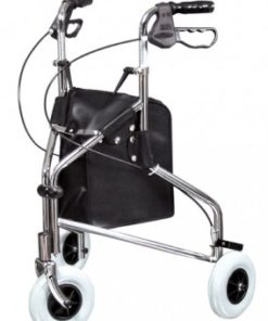 InventoryItem1439 400 247x296 - ROLLATOR CHROME THREE WHEELED LUMEX