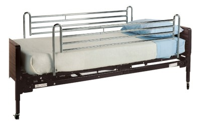InventoryItem2454 400 - BED RAILS FULL TELE UNIV CHRM LUMEX