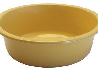 InventoryItem803 400 324x235 - WASH BASIN PLSTC ROUND GOLD GRAFCO, 5QT