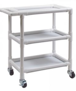 InventoryItem8195 400 247x296 - UTILITY CART PVC SMALL 3 SHELF LUMEX