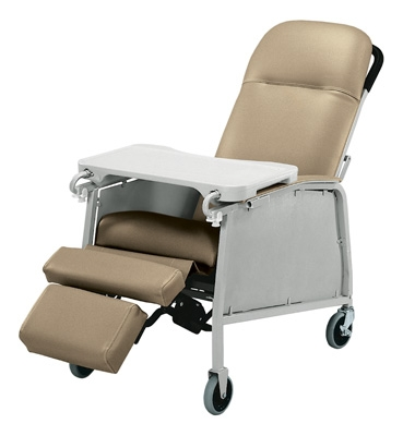 InventoryItem8556 400 - RECLINER STD 3 POS WARM TAUPE LUMEX