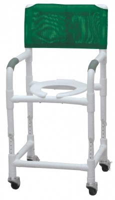 "InventoryItem9086 400 - SHOWER CHR PVC CMD ADJ HT 3TW SEAT CLEARANCE 18""-23"""