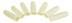 PRD 3911 L 1 72 2 - FINGER COTS REINF LATEX XL GRAFCO
