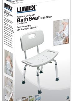 ProductImageItem3335 400 238x324 - BATH SEAT W/ BACK RETAIL LUMEX, UNASSEMBLED