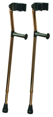 ProductImageItem530 400 3 - DELUXE FOREARM CRUTCH W/ ORTHO EASE GRIP, MEDIUM
