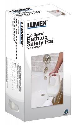 ProductImageItem716 400 - BATHTUB SAFETY RAIL TUB-GUARD LUMEX 1 EA (69623A)